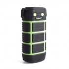 Cager WP10 5600mAh Outdoor Dustproof Waterproof Business Mobile Power for Cellphone - Green + Black
