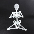 33cm Halloween Glow-in-the-Dark Skeleton Set - Light Green