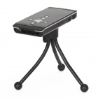 LZ-300 a-B Portable Smart Mini Home / Office lecteur multimédia, projecteur LCOS - noir