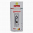 Rimei A610 Stainless Steel Bevel Nail Clippers - Silver