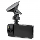 "K900 1080p 2.6"" TFT 1/4 CMOS 1.3 MP Wide Angle Lens Car DVR w/ HDMI / G-sensor / TF - Black + Silver"