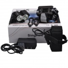 SingFire SF-804B 1200lm 3-Mode Eagle Eye Mini Bike Headlamp w/ 2 x XM-L T6, Battery - Black