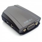 MINIX NEO V1 HDMI Female to VGA Female Adapter w/ 3.5mm Audio - Black