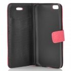 Protective Flip-open PU Leather Case for Iphone 5C - Deep Pink
