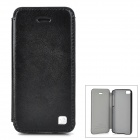 HOCO HI-L038 Protective PU Leather + PC Case for iPhone 5c - Black