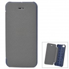 Protective PU Leather Case Cover for iPhone 5c - Black