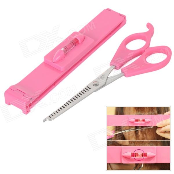 Fringe Cut Tool Kit Scissors + Clipper Comb Guide Ruler Styling Hair ...