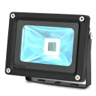 Square Style 10W LED Lamp Bead Radiator Heatsink Shell - Black (IP65)