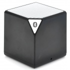 Bluetooth V2.1+EDR Stereo Music Speaker - Black + White