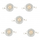 ZnDiy-BRY Z-015 1W 420nm~430nm Purple Light LED - Yellow + White (5 PCS / 3.2~3.6V)