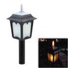CMI LEH-41407 3-LED Yellow Solar Light / Courtyard Lamp / Garden Light - Black
