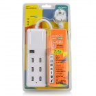 SPEEDY SPD-USB603 Compact 7.1A 6 Female USB Output EU Plug Charging Socket for Iphone + More - White