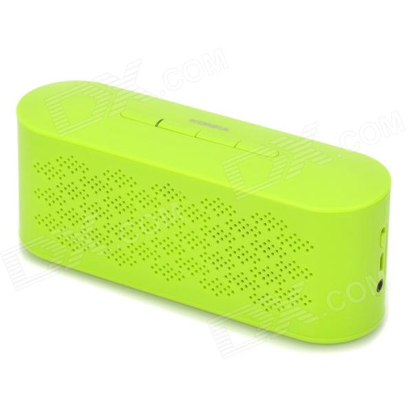 KONKA KHF305 Stylish Bluetooth V3.0 Speaker w/ Voice Dial / Handsfree Call for Cellphone / Tablet PC