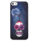 3D Pattern Protective Plastic Back Case w/ Flashing for Iphone 5 - Multicolored (1 x CR2016)