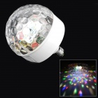 W188A LED RGB Voice Control Stage Light Lamp for KTV / Bar / Party - White