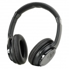 QinYin MD-99 Stereo Headphones MP3 Player w/ TF / FM - Black