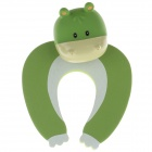 Cute Cartoon Cow Style Safety Door Stopper - Green+White