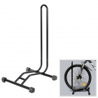 Cycling Bike Repairing Iron Wheel Rack Holder Stand - Black