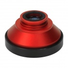 Detachable 0.4X Super Wide Angle Lens for Iphone 4 / 4S / 5 / Samsung Galaxy S3 i9300 - Red + Black