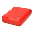 Portable Battery Mobile Charger Converter Adapter for Iphone / Samsung + More - Red (4 x AA)