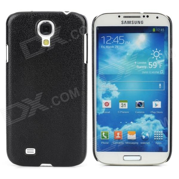 Protective Plastic Hard Back Case for Samsung Galaxy S4 i9500 - Black