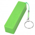 Universal 1 x 18650 Battery Box / Power Bank - Green (USB 5V)