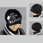 Hip-Hop Style Fashion Cotton Cap Hat - Black + White