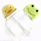 Frog + Duck Style Baby Sweatbands - Yellow + Green + White (2 PCS)