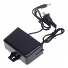 STV-K1202000 12V 2A Power Adapter Charger for CCD Camera - Black (5.5 x 2.1mm / 2-Flat-Pin Plug)