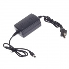 12V 2A Special Power Supply For CCD Camera - Black (5.5 x 2.1mm / 2-Flat-Pin Plug)