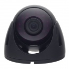"HaiKe HK-8001 1/4"" CMOS 700TVL Surveillance Infrared Dome Camera w/ 24-IR LED - Black"
