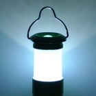 MR-093 1-LED 3-Mode White Camping Lantern Flashlight - Green (3 x AAA)