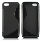 Protective S Style TPU Back Case for PHONE 5C - Black