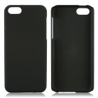 Fashionable Super Thin Protective Glaze PC Back Case for Iphone 5C - Black