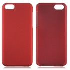 Fashionable Super Thin Protective Glaze PC Back Case for Iphone 5C - Wine Red
