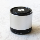 PZCD BL-08 Mini Portable Bluetooth v2.1 Speaker w/ Microphone, TF Card Reader - Silver + Black