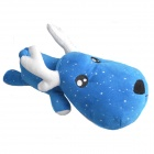 AYA-010 Noctilucent Deer Christmas Decorative Bamboo Charcoal Propitious Toy - Blue + White