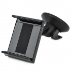 Desktop / Car Mount Holder w/ Suction Cup for Iphone / Samsung / HTC / GPS - Black