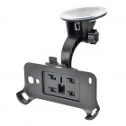 360 Degree Rotation Car Mount Suction Cup Holder Stand Bracket Samsung Galaxy S4 Mini i9190 - Black