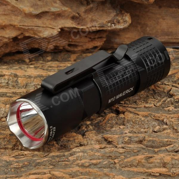 OLIGHT M10 350lm 4-Mode Memory White Flashlight w/ Cree XM-L2 T6 - Black (1 x CR123A)