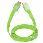 Unitek Y-C154GN Flat HDMI V1.4 Male to Male Connection Cable - Green (150cm)