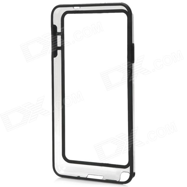 Protective TPU Bumper Frame Case for Samsung Galaxy Note 3 - Transparent + Black шины nexans 175 185 195 205 215 50 55 60 65 70r14 15 16