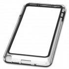 Protective TPU Bumper Frame Case for Samsung Galaxy Note 3 - Transparent + Black