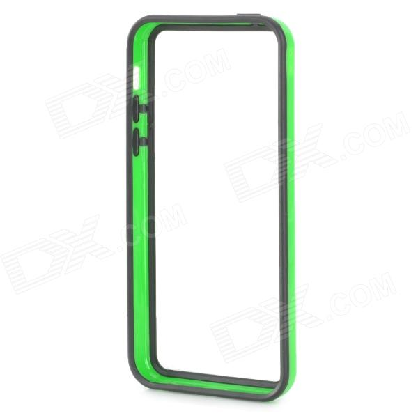 Protective Bumper Case for Iphone 5C - Green + Black protective aluminum alloy bumper frame case for iphone 5 5s golden