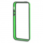 Protective Bumper Case for Iphone 5C  - Green + Black