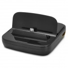HDMI 1080p Charging Dock Station for Samsung Galaxy S4 i9500 / S3 i9300 / Note 2 N7100 - Black