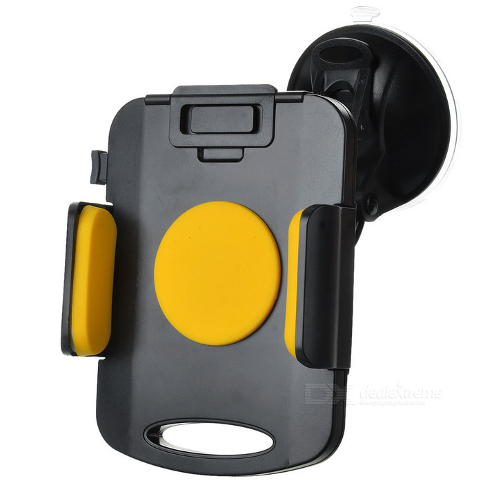 139 Universal Car Holder Mount for 10~21cm Tablet - Yellow + Black