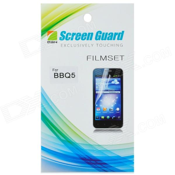 Protective Glossy Screen Protector for BlackBerry BBQ5 - Transparent protective matte frosted screen protector film guard for nokia lumia 900 transparent