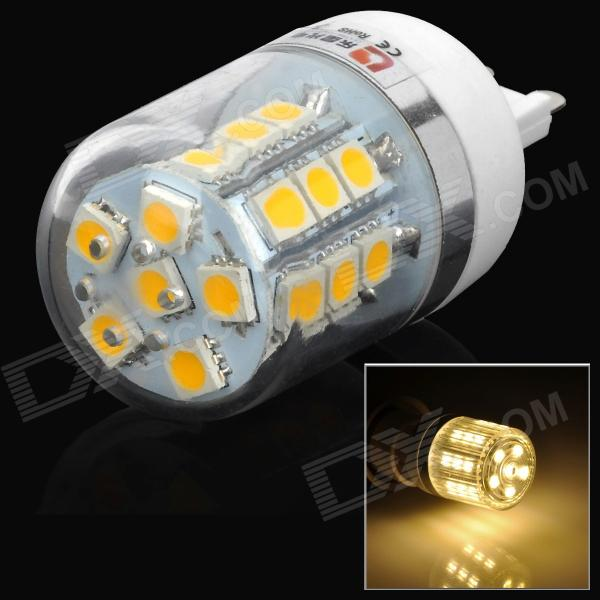 LeXing G9 3W 200lm 3500K 27-5050 SMD LED Warm White Light Corn Lamp (220~240V)