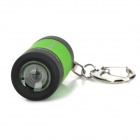 Mini USB Rechargeable LED Flashlight - Green + Black